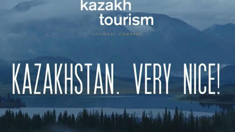 "Kazakhstan New Tourism Campaign Slogan: ""Very nice?"""