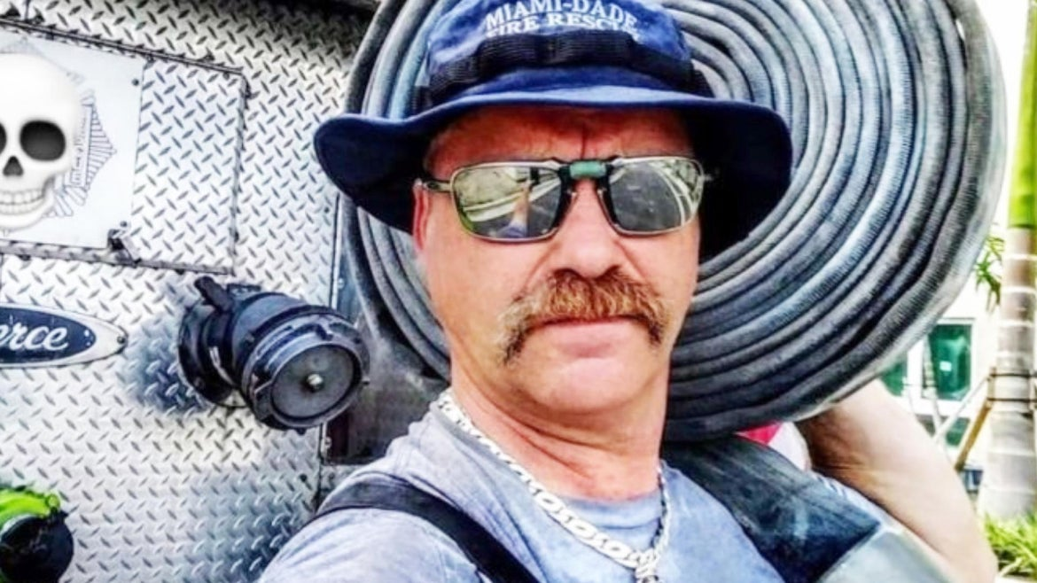 Fireman Corey Logan responded to a call to his own home, and found his wife dead in the bedroom of fire-related causes.