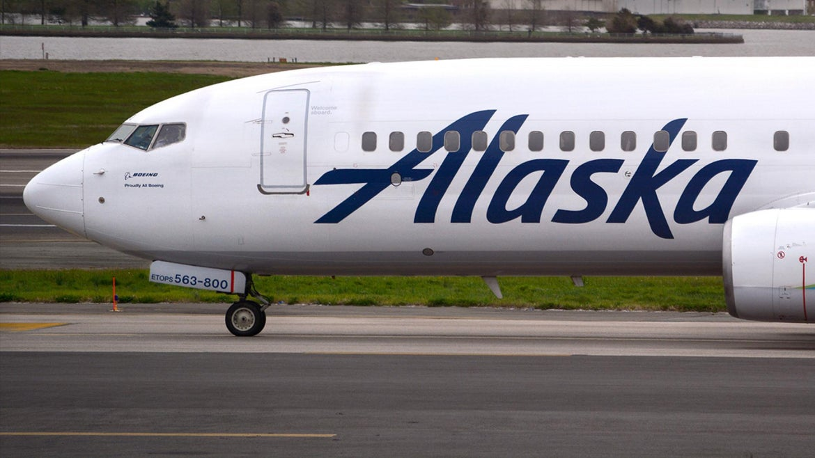 An Alaska Airlines flight hit and killed a mother bear upon landing on the runway.