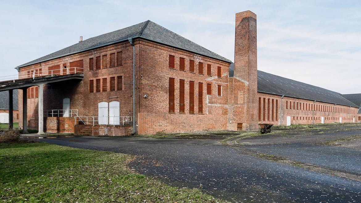 Former Nazi SS guard Friedrich Karl Berger once worked at the Neuengamme concentration camp near Meppen, Germany in 1945.
