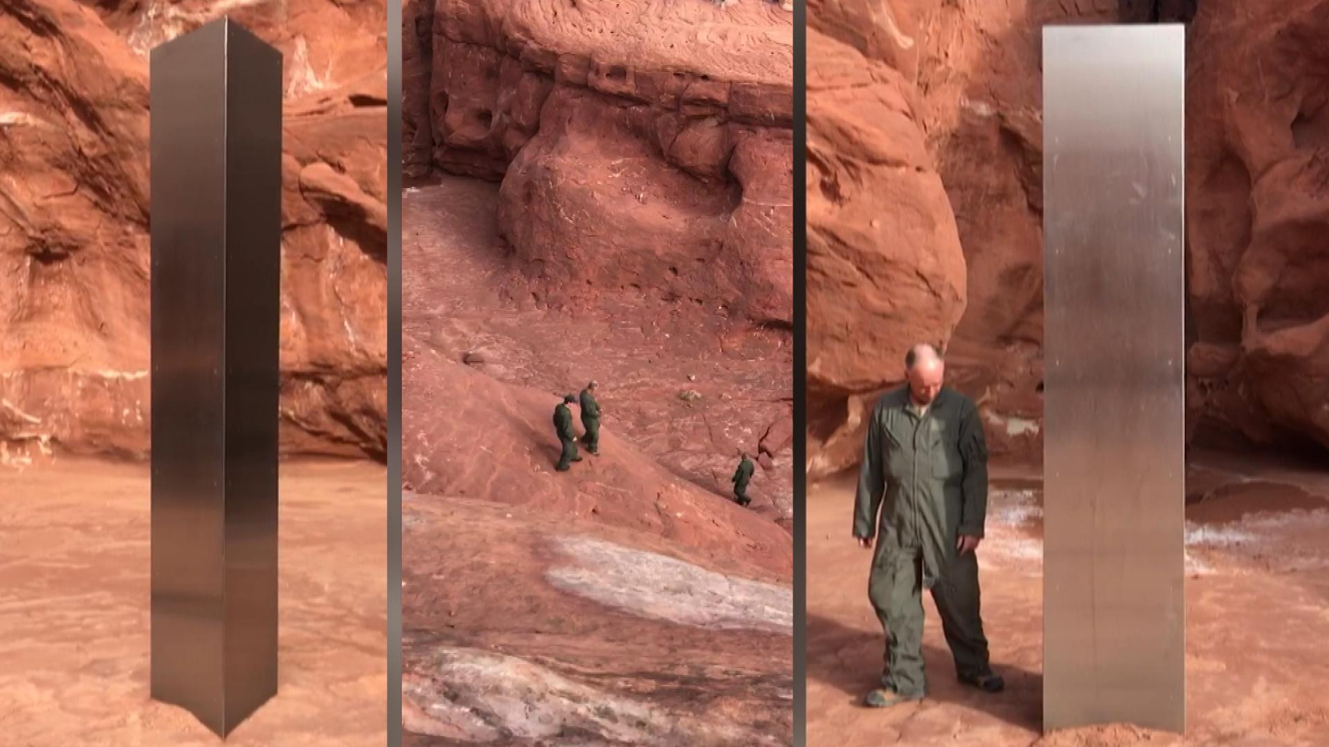 nca4clfzzsd2tm https www insideedition com helicopter finds monolith in remote part of utah 63311
