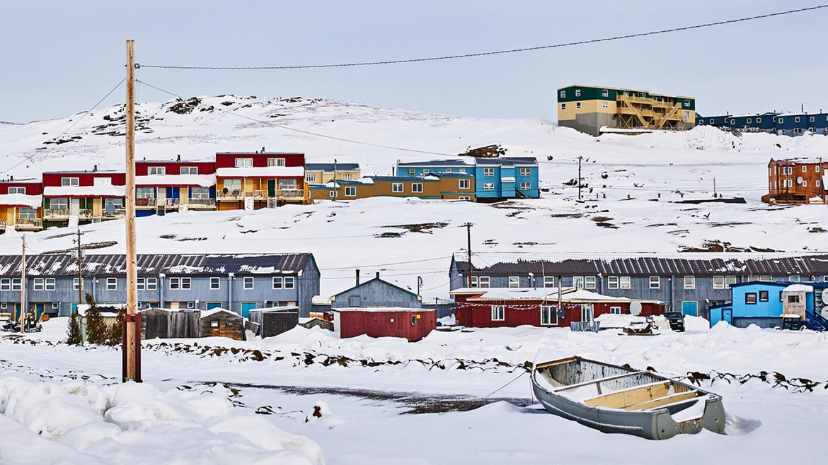 Iqaluit, the capital of Nunavut, has not yet seen any cases of the coronavirus yet locals continue to exercise extreme caution.