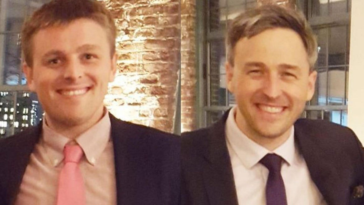 Two Blind Brother Founders: Bryan Manning, 30 and Bradford Manning, 35.