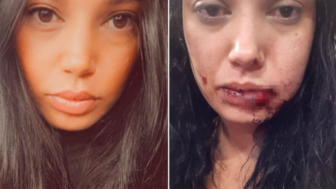 Brittany Correri allegedly assaulted by man she met on dating app