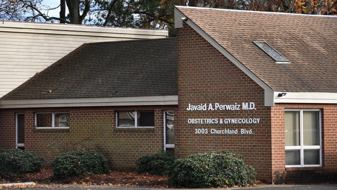 Dr. Javaid Perwaiz faces 465 years in prison, according to a spokesman for the U.S. Attorney's Office. Sentencing is set for March 31.