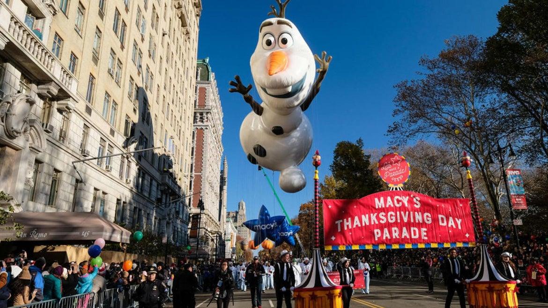 Macy's Day Parade in New York City