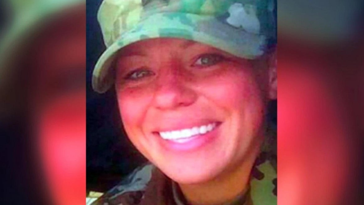 Morgan Robinson took her life after being attacked by fellow soldiers, her mother says.