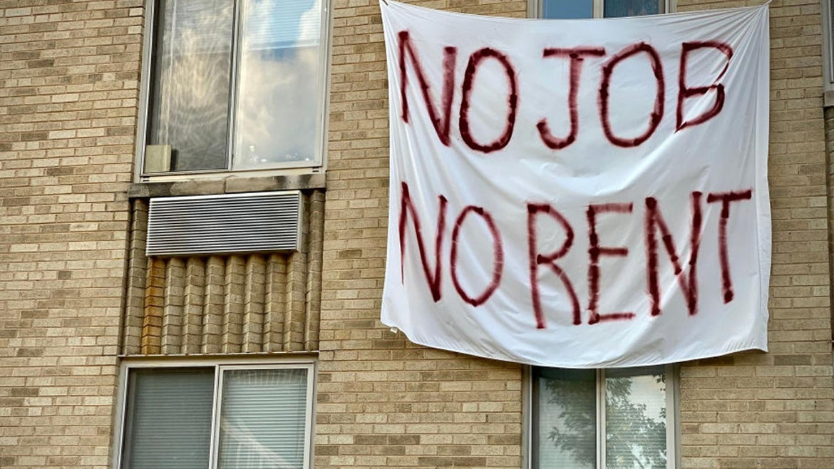 The eviction moratorium is expected to end Dec. 31