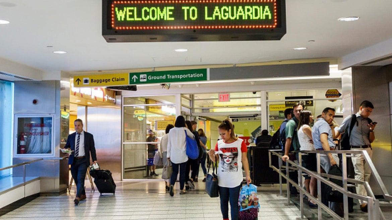 Interior of LaGuardia Airport