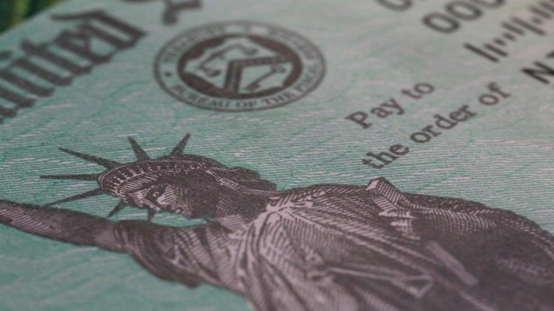 Stimulus checks could begin arriving next week.
