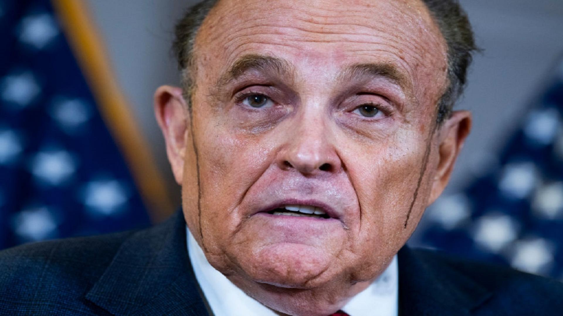 Rudy Giuliani has been sued by Dominion Voting Systems for $1.3 billion in damages.