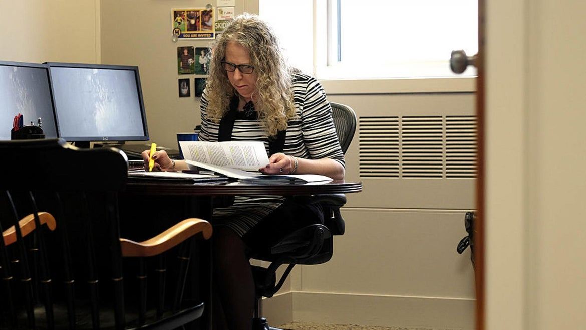 Dr. Rachel Levine of Pennsylvania was picked as assistant secretary of health