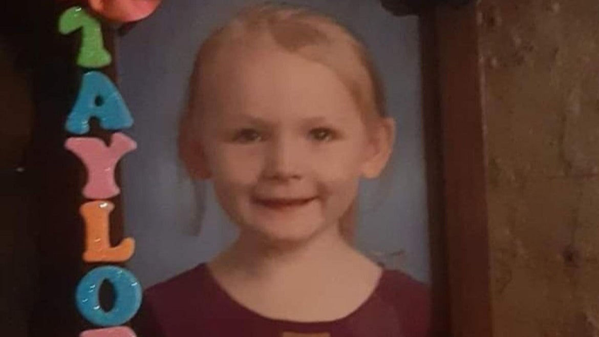 Taylor Treanton, 5, passed away tragically in a house fire Jan. 14.