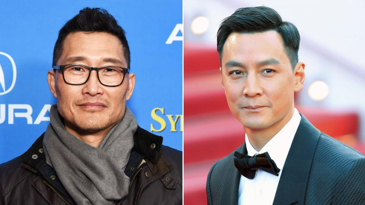 Actors Daniel Dae Kim (left) and Daniel Wu (right) offered $25,000 for any information that leads to an arrest and conviction in the case of the 91-year-old man attacked in Oakland's Chinatown.