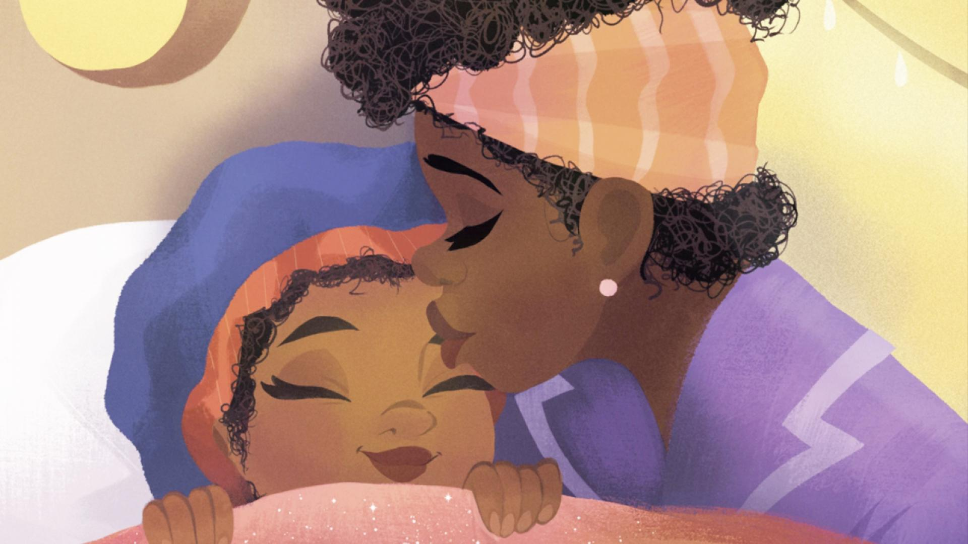 """Nancy Redd's """"Bedtime Bonnet"""" attempts to rectify a lack of accurate representation in children's books featuring Black characters."""