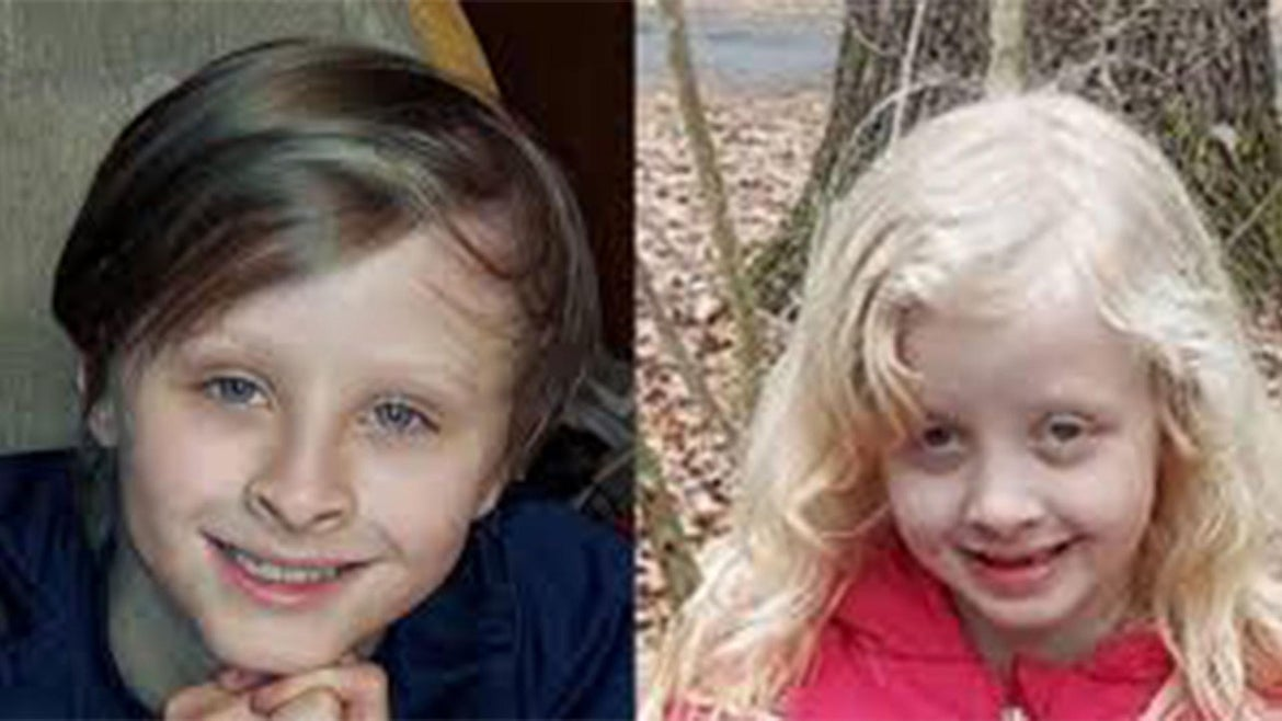 Benjamin Luckett, 10, died while saving his sister, Abigail Luckett, 6, from frozen pond.
