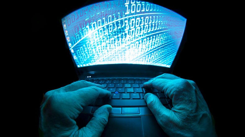 Image of computer hacker