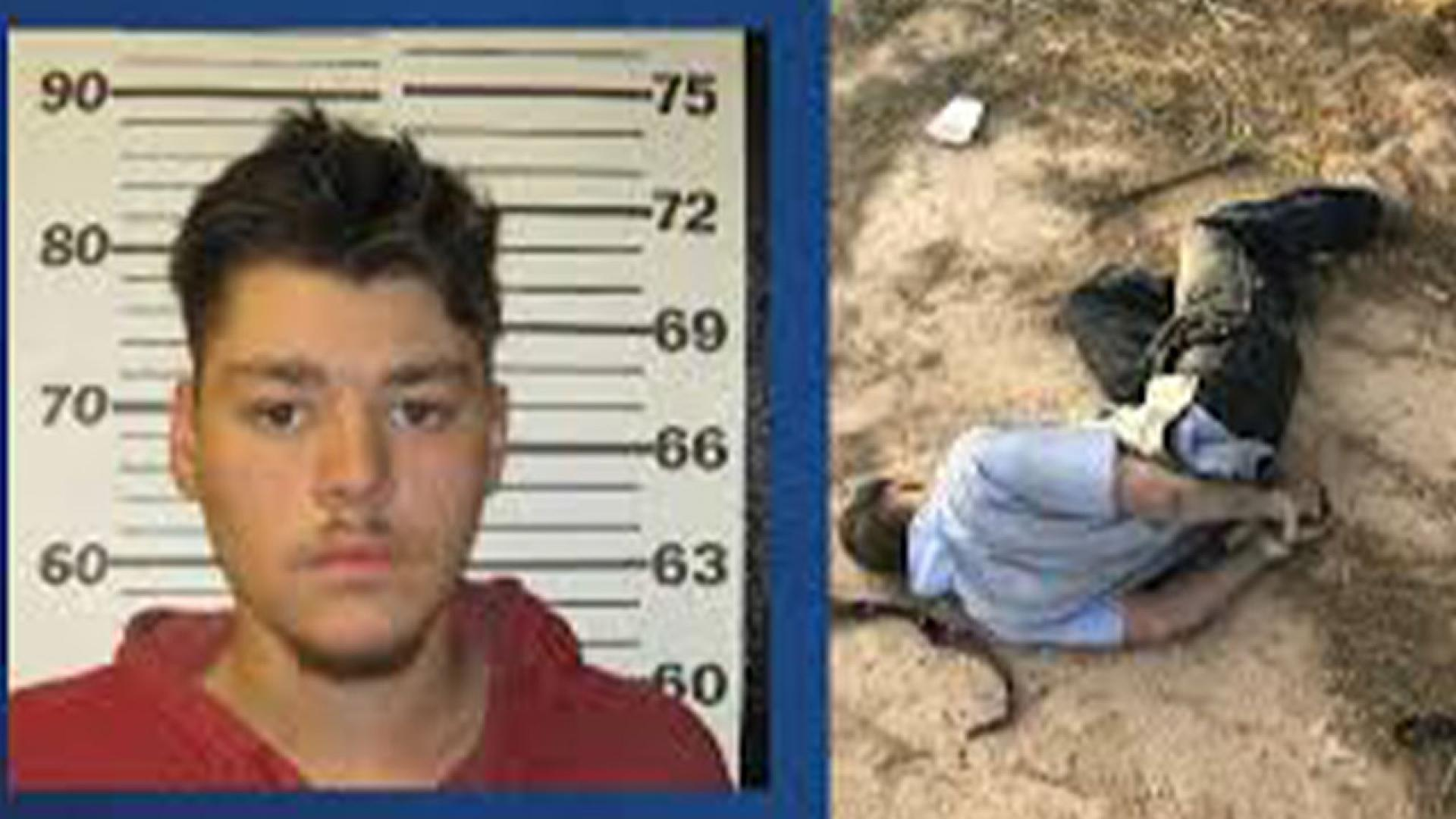 Brandon Soules, 19, faked his own kidnapping to get out of work.