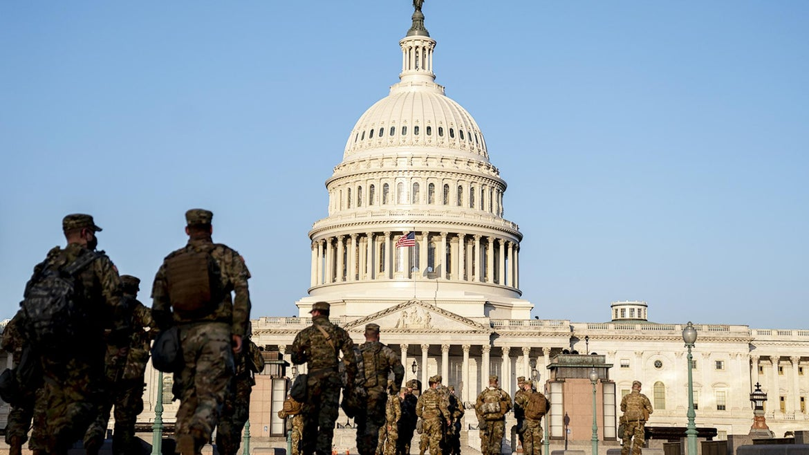 Upgraded security measures have been enacted at the US Capitol complex since the riots on Jan. 6.