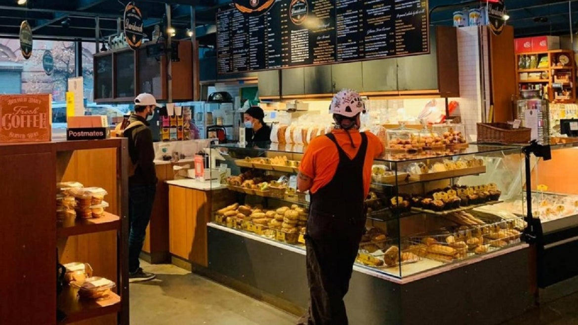 A bakery employee kept his cool after being called the n-word by customer.