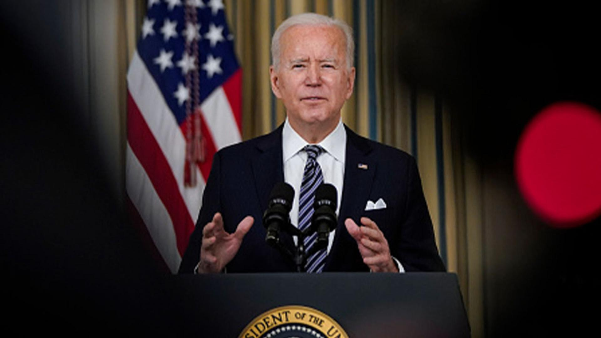 President Biden Delivers Remarks On The Implementation Of Newly Passed American Rescue Plan