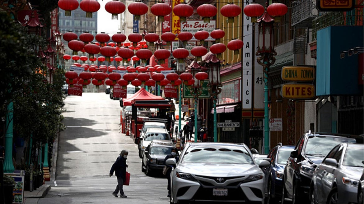 Attacks Against Asian Americans On The Rise In San Francisco By Area