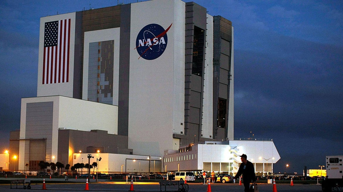 NASA's Vehicle Assembly Building at the Kennedy Space Center