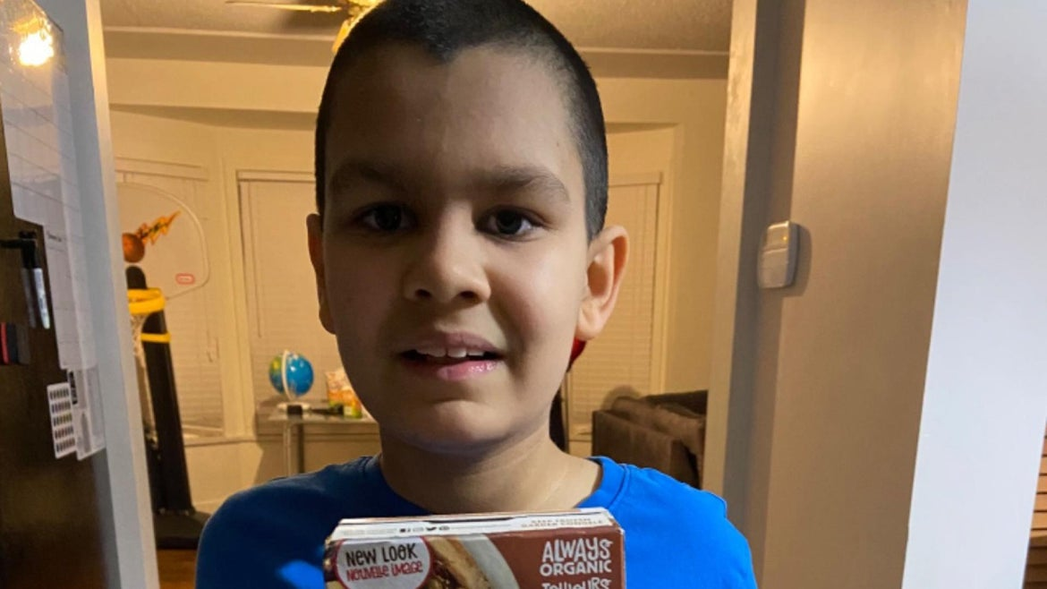 A fundraiser was set up for 10-year-old Jerico Roman by his mother who after falling ill has only been eating his favorite waffles for meals.