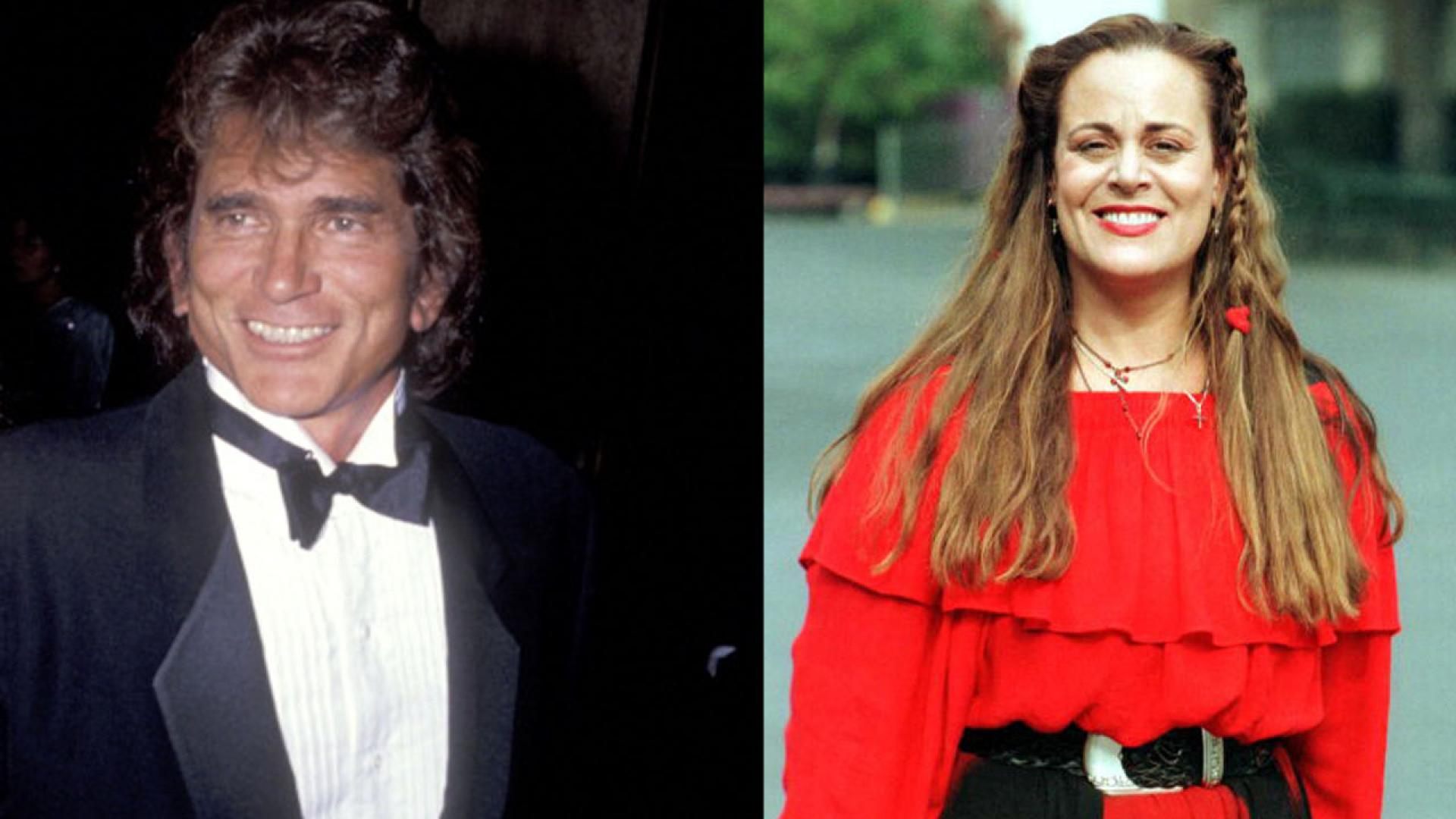 The late Michael Landon in a 1991 photo, and daughter, Cheryl Landon, in a 1999 photo