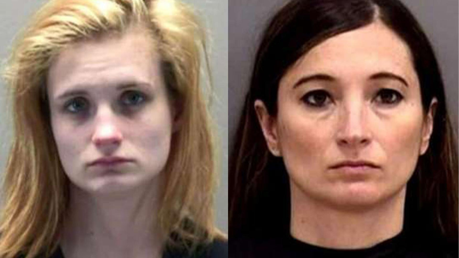(r-l) Heidi Marie Littlefield, 41, her daughter, Logan Marie Runyon, 22 charged in murder-for-hire plot.