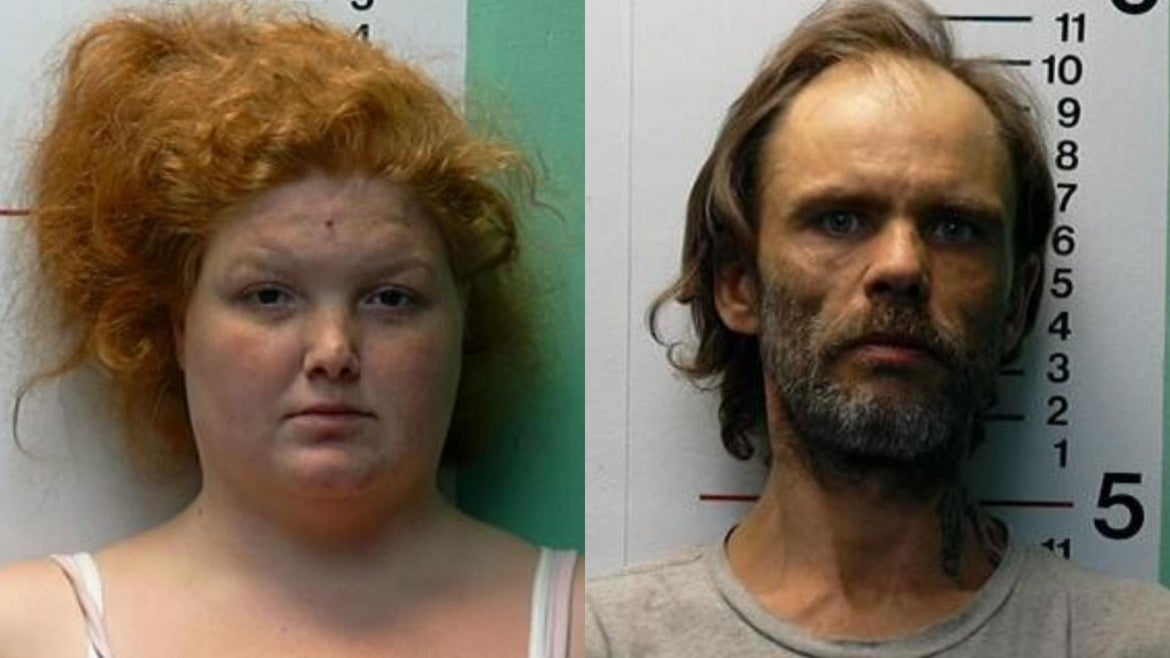 BrittanyGosney, 29, and her boyfriend James Hamilton, 42, are charged with dumping 6 year old James Hutchinson in the Ohio River