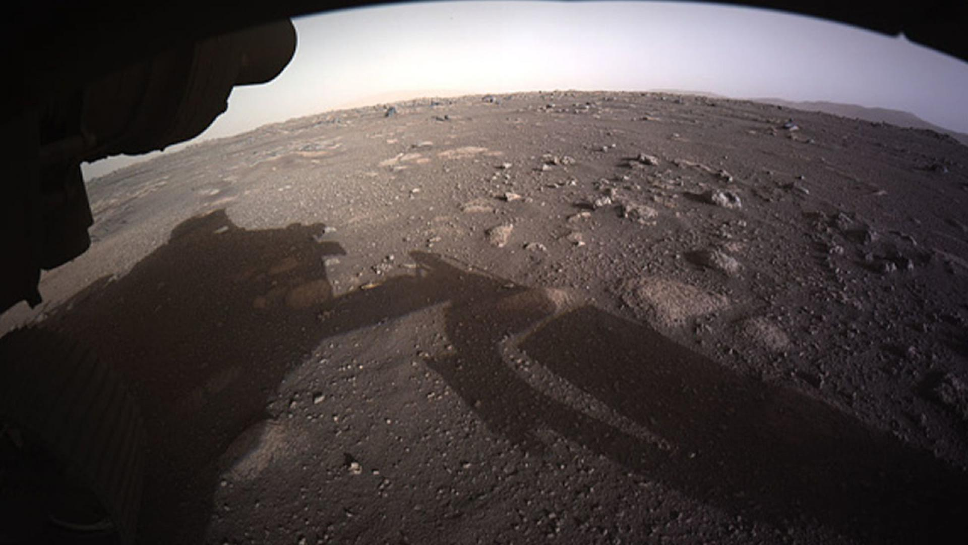 Perseverance landed on the surface of the red planet on February 18.