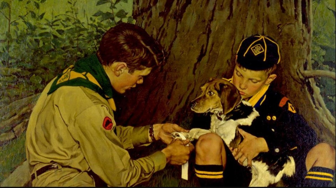 The Boy Scouts of America will sell its Norman Rockwell collection.