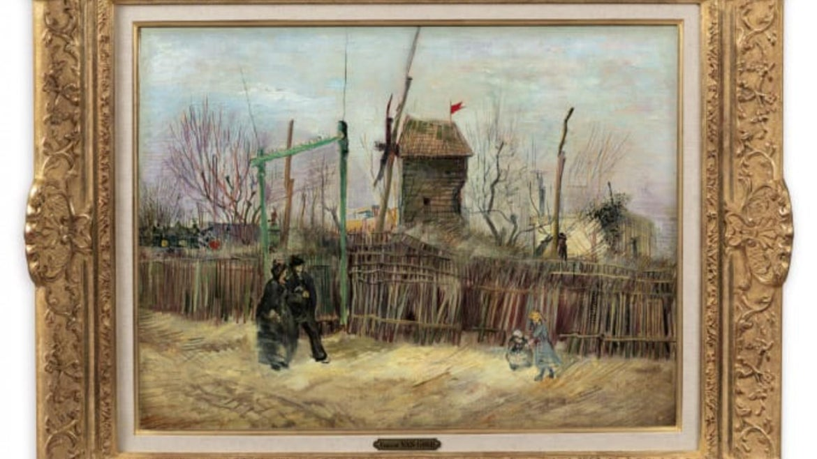 The van Gogh painting was initially expected to bring in under $10 million.