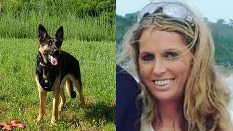MISSING: Sinead Lyons, 41 and her German Shepherd, Flossie