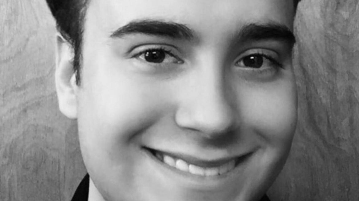 Victor Melillo, 21, died during training to become a firefighter.