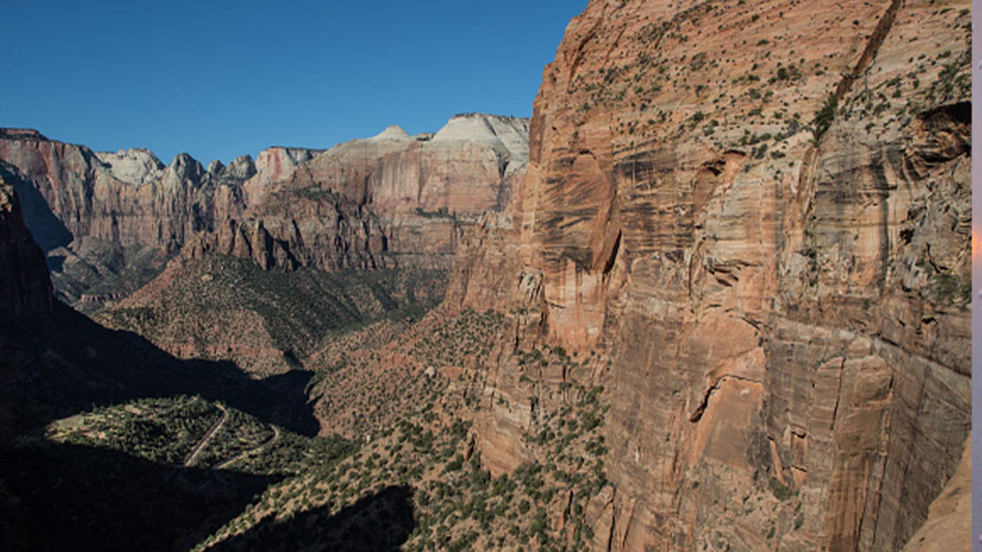 An photo of Zion National Park.