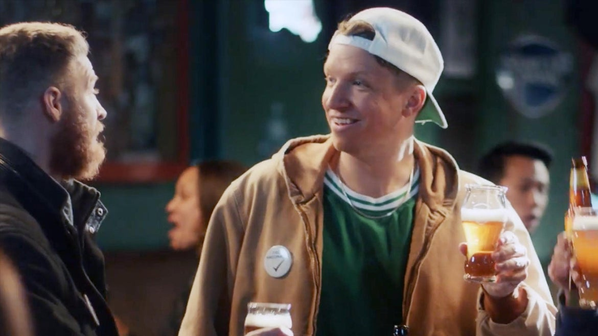 Samuel Adams shared a new ad that encourages their drinkers to get vaccinated.