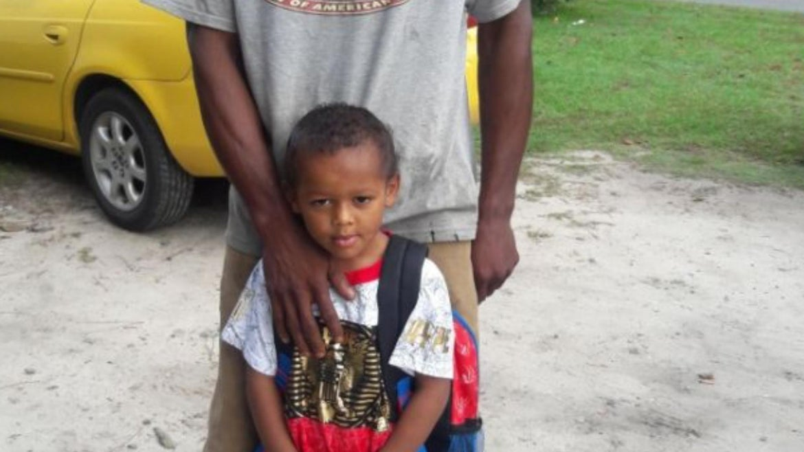 Sterling Holman, 38, and his son Braylin, went missing after going fishing.