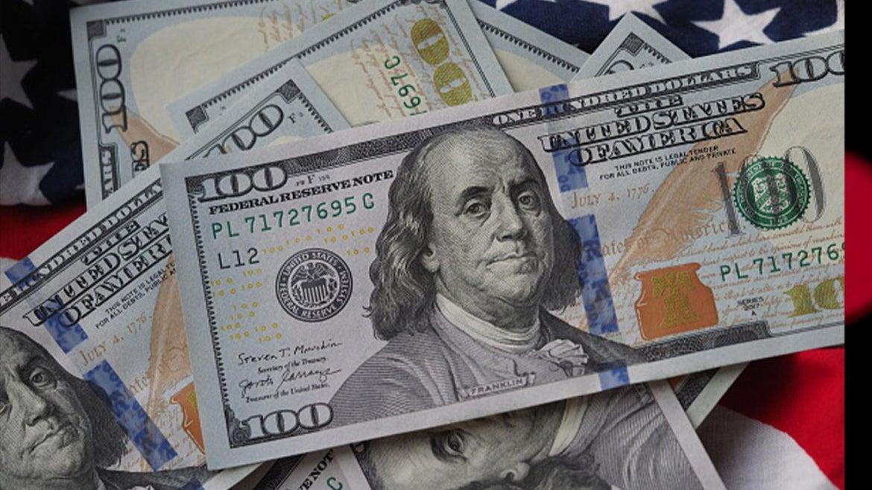 Stock image of money.