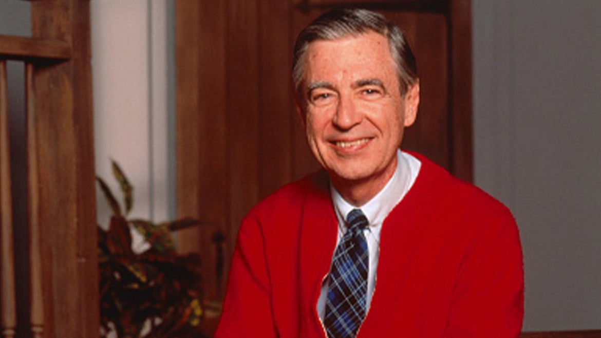 Fred Rogers of Mister Rogers' Neighborhood
