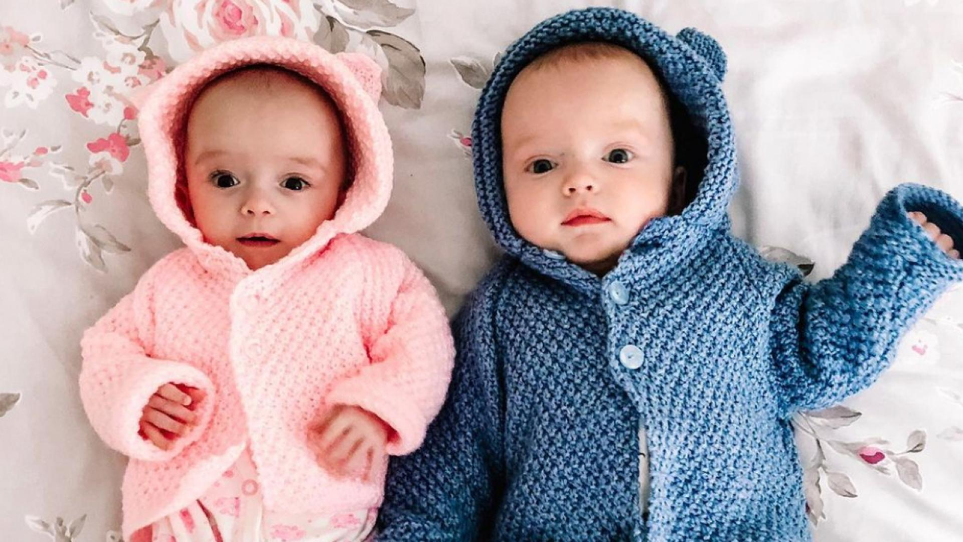 Noah and Rosalie were conceived three weeks from each other.