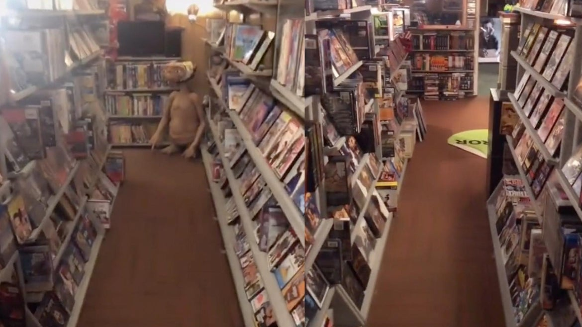 Frustrated and bored during the pandemic, a Midwestern dad brings his nostalgia for weekend movie rentals to life. Just don't forget to rewind.