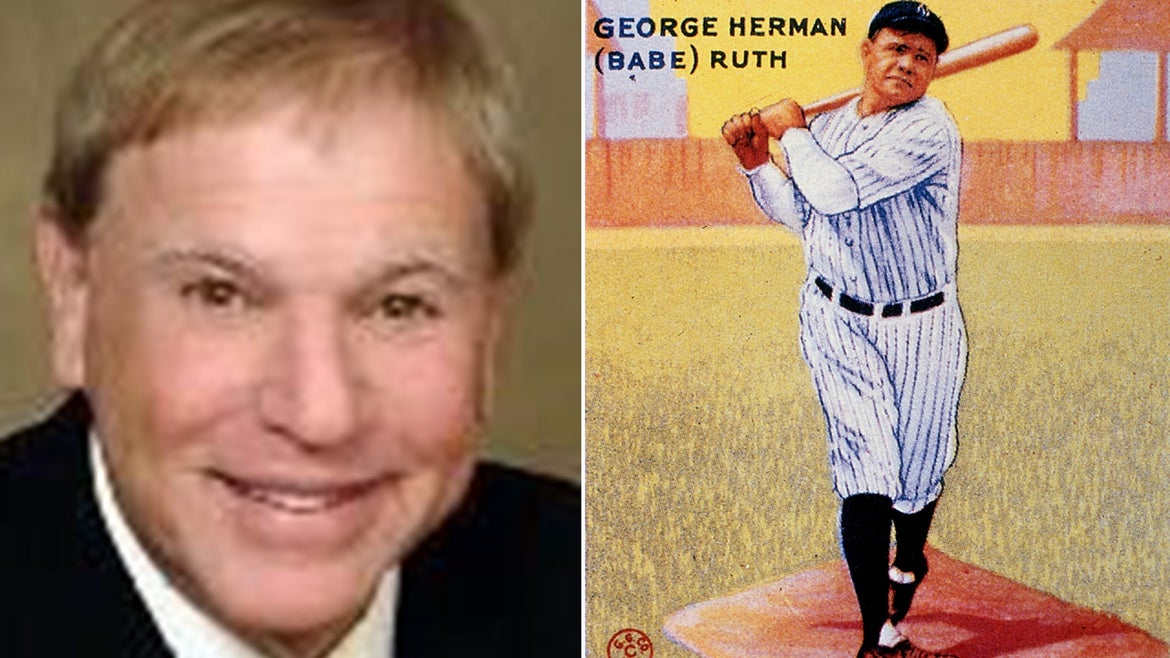 Dr. Thomas Newman's collection, which be began building in the 1980s, includes an ultra-rare 1933 Babe Ruth card estimated to be worth close to $5 million that will go to auction on June 21.