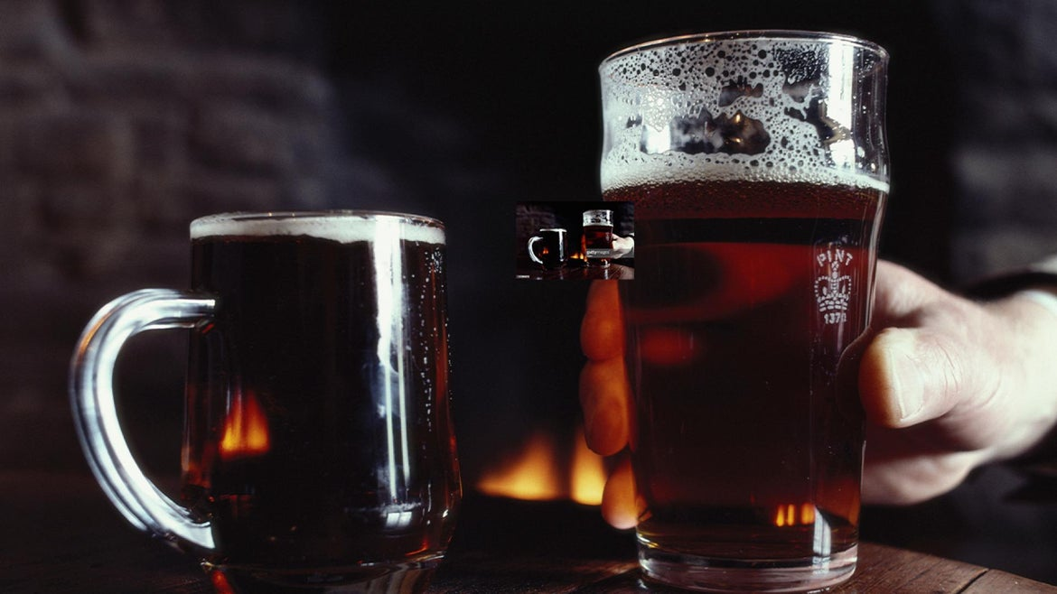 Image of a few glasses of craft beer.