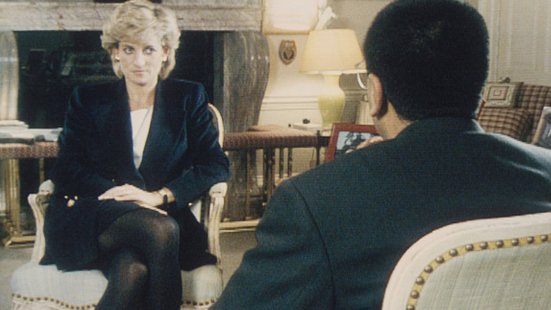 Former Journalist Martin Bashir interviewing the late Princess Diana.