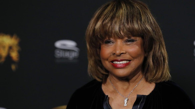 Tina Turner during a photo call for the musical 'Tina - Das Tina Turner Musical' at Mojo Club on October 23, 2018 in Hamburg, Germany.