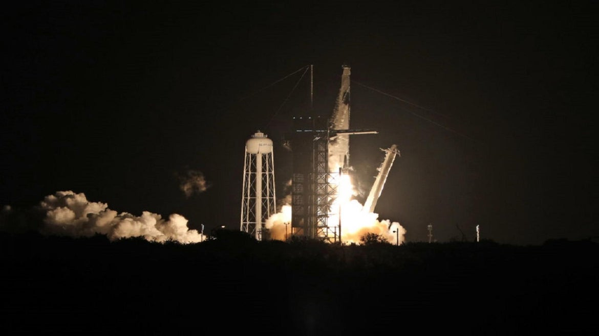 SpaceX Dragon Launch in November.
