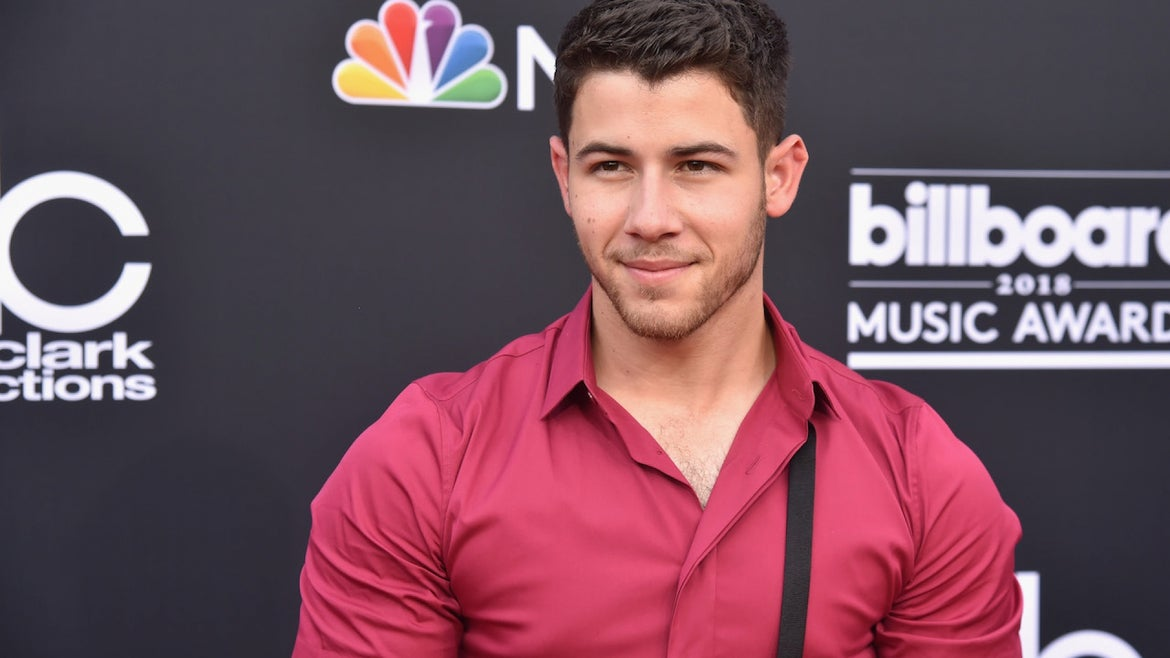 MAY 20: Recording artist Nick Jonas attends the 2018 Billboard Music Awards at MGM Grand Garden Arena on May 20, 2018 in Las Vegas, Nevada
