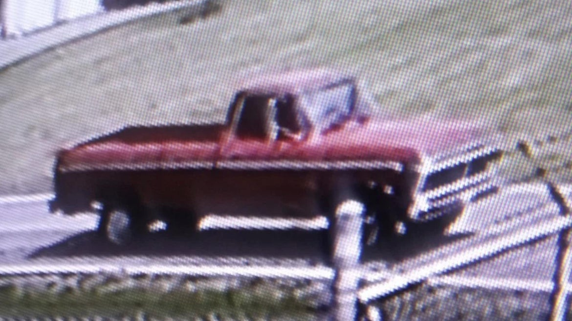 Anyone with information on the truck pictured can call the Columbiana County Sheriff's Office at 330-424-9519